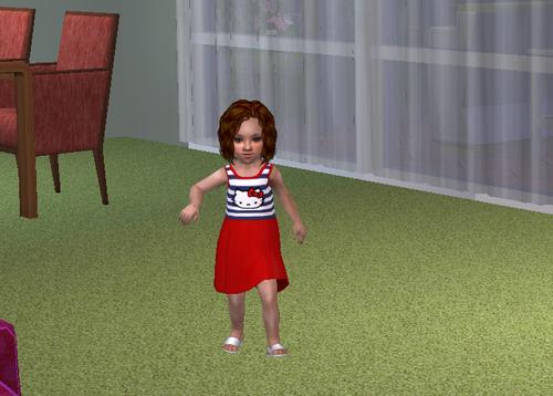 Screenshot for Toddler Hello Kitty Dress
