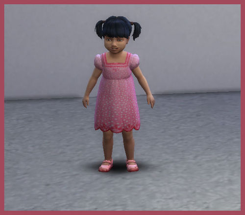 Screenshot for My First Sims 4 - Toddler Recolors
