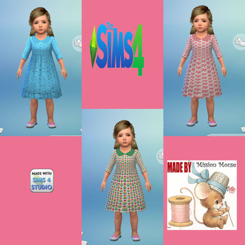 Sims 2 child clothes